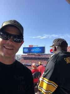Anne attended San Francisco 49ers vs. Pittsburgh Steelers - NFL on Sep 22nd 2019 via VetTix