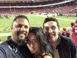 Joseph attended San Francisco 49ers vs. Pittsburgh Steelers - NFL on Sep 22nd 2019 via VetTix
