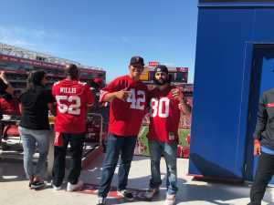 SanJuanita attended San Francisco 49ers vs. Pittsburgh Steelers - NFL on Sep 22nd 2019 via VetTix