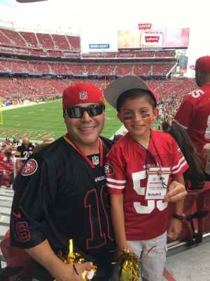 Rigoberto attended San Francisco 49ers vs. Pittsburgh Steelers - NFL on Sep 22nd 2019 via VetTix