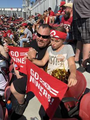 Chris attended San Francisco 49ers vs. Pittsburgh Steelers - NFL on Sep 22nd 2019 via VetTix