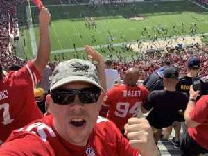 Alexander attended San Francisco 49ers vs. Pittsburgh Steelers - NFL on Sep 22nd 2019 via VetTix
