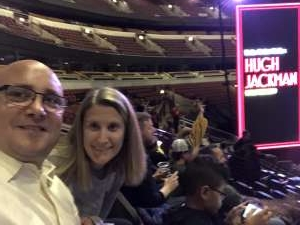 Andrew attended Hugh Jackman: the Man. The Music. The Show. on Oct 11th 2019 via VetTix