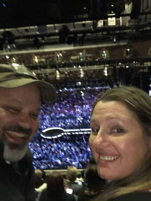 Master Sergeant (Ret) Erik Hoffman attended Hugh Jackman: the Man. The Music. The Show. on Oct 11th 2019 via VetTix