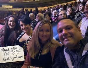 LRM attended Hugh Jackman: the Man. The Music. The Show. on Oct 11th 2019 via VetTix