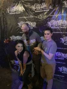 Maranda attended Netherworld 2019 Haunt- Valid on Specific Dates Only * See Notes Before Claiming on Oct 6th 2019 via VetTix