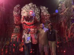 Darius attended Netherworld 2019 Haunt- Valid on Specific Dates Only * See Notes Before Claiming on Oct 6th 2019 via VetTix