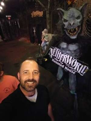 Travis attended Netherworld 2019 Haunt- Valid on Specific Dates Only * See Notes Before Claiming on Oct 6th 2019 via VetTix