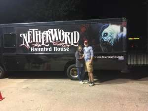 Tyler attended Netherworld 2019 Haunt- Valid on Specific Dates Only * See Notes Before Claiming on Oct 6th 2019 via VetTix