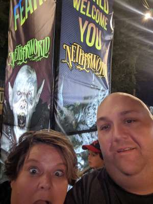 Allen attended Netherworld 2019 Haunt- Valid on Specific Dates Only * See Notes Before Claiming on Oct 6th 2019 via VetTix