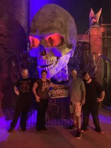 John attended Netherworld 2019 Haunt- Valid on Specific Dates Only * See Notes Before Claiming on Oct 6th 2019 via VetTix