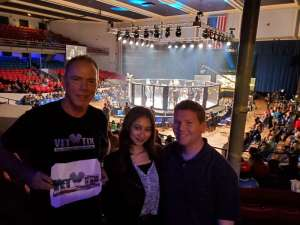 James attended Invicta FC 37 - Frey vs. Cummins 2 - Live Mixed Martial Arts - Tracking Attendance - Presented by Invicta Fighting Championships on Oct 4th 2019 via VetTix