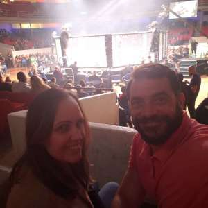 Paul attended Invicta FC 37 - Frey vs. Cummins 2 - Live Mixed Martial Arts - Tracking Attendance - Presented by Invicta Fighting Championships on Oct 4th 2019 via VetTix