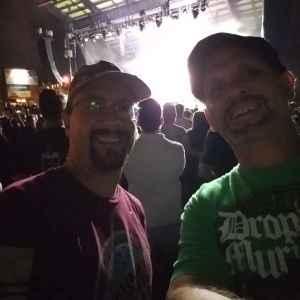 Devin attended Dropkick Murphys and Clutch on Sep 25th 2019 via VetTix