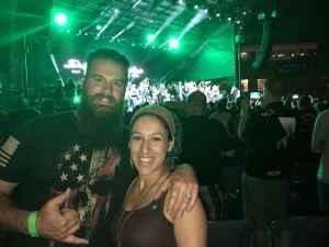 Eddie attended Dropkick Murphys and Clutch on Sep 25th 2019 via VetTix