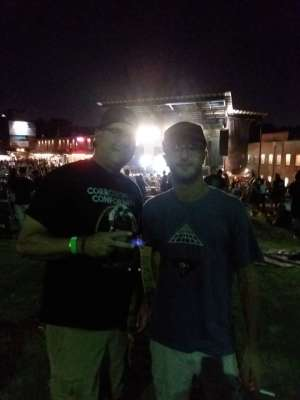 Terrence attended Dropkick Murphys and Clutch on Sep 25th 2019 via VetTix