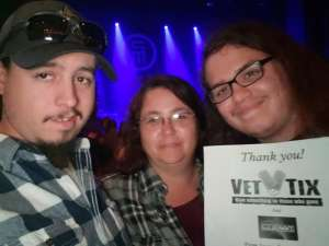 Jason attended Scotty Mccreery With Temecula Road on Oct 3rd 2019 via VetTix