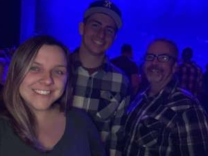 Ryan attended Scotty Mccreery With Temecula Road on Oct 3rd 2019 via VetTix