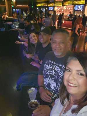 Anastacio attended Scotty Mccreery With Temecula Road on Oct 3rd 2019 via VetTix