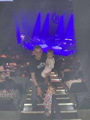 Christopher attended Scotty Mccreery With Temecula Road on Oct 3rd 2019 via VetTix