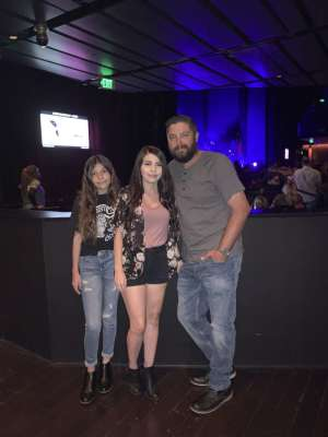 Michael attended Scotty Mccreery With Temecula Road on Oct 3rd 2019 via VetTix