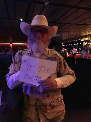 Steve Martin attended Scotty Mccreery With Temecula Road on Oct 3rd 2019 via VetTix