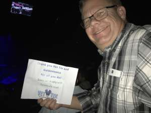 Mike attended Scotty Mccreery With Temecula Road on Oct 3rd 2019 via VetTix
