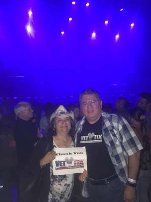 Alejandro attended Scotty Mccreery With Temecula Road on Oct 3rd 2019 via VetTix