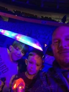 Don attended Jurassic World Live Tour on Oct 17th 2019 via VetTix