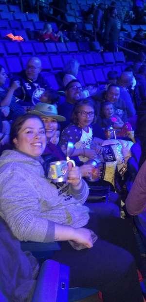 Erika attended Jurassic World Live Tour on Oct 17th 2019 via VetTix