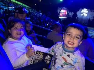 Kelley attended Jurassic World Live Tour on Oct 17th 2019 via VetTix