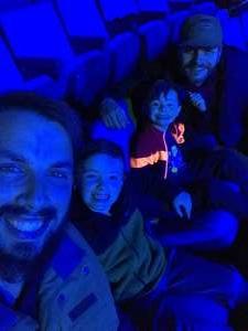 Benjamin attended Jurassic World Live Tour on Oct 17th 2019 via VetTix
