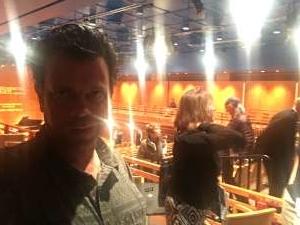 John attended Camera Lucida at Samueli Theater on Oct 13th 2019 via VetTix