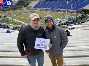 Jerry attended Duke Blue Devils vs. Syracuse - NCAA Football ** Military Appreciation Day!** on Nov 16th 2019 via VetTix