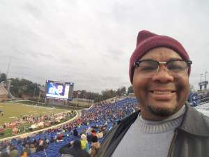 Ron attended Duke Blue Devils vs. Syracuse - NCAA Football ** Military Appreciation Day!** on Nov 16th 2019 via VetTix