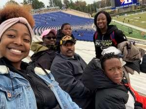 Latonya attended Duke Blue Devils vs. Syracuse - NCAA Football ** Military Appreciation Day!** on Nov 16th 2019 via VetTix