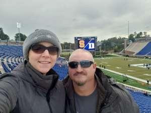 Matt attended Duke Blue Devils vs. Syracuse - NCAA Football ** Military Appreciation Day!** on Nov 16th 2019 via VetTix