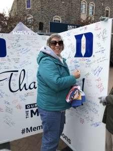 Yvonne attended Duke Blue Devils vs. Syracuse - NCAA Football ** Military Appreciation Day!** on Nov 16th 2019 via VetTix
