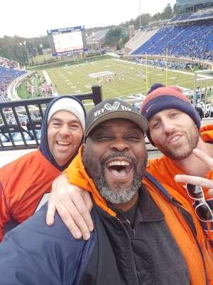rahzine attended Duke Blue Devils vs. Syracuse - NCAA Football ** Military Appreciation Day!** on Nov 16th 2019 via VetTix