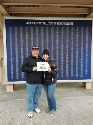 Eugene attended Duke Blue Devils vs. Syracuse - NCAA Football ** Military Appreciation Day!** on Nov 16th 2019 via VetTix