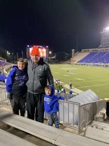 James attended Duke Blue Devils vs. Syracuse - NCAA Football ** Military Appreciation Day!** on Nov 16th 2019 via VetTix