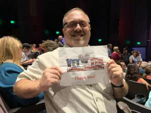 Michael attended Roy Orbison and Buddy Holly: Rock N Roll Dream Tour on Oct 1st 2019 via VetTix