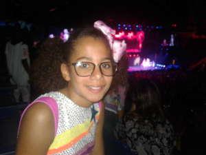 Jennifer attended Nickelodeon's Jojo Siwa D. R. E. A. M the Tour on Oct 1st 2019 via VetTix