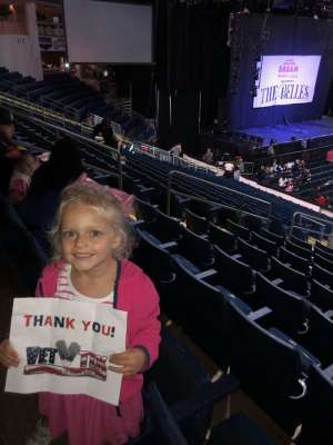 Edgardo attended Nickelodeon's Jojo Siwa D. R. E. A. M the Tour on Oct 1st 2019 via VetTix