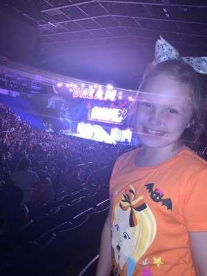 Travis attended Nickelodeon's Jojo Siwa D. R. E. A. M the Tour on Oct 1st 2019 via VetTix