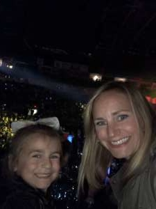 Aaron attended Nickelodeon's Jojo Siwa D. R. E. A. M the Tour on Oct 1st 2019 via VetTix