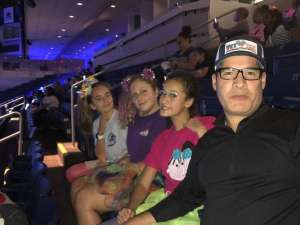 DIEGO attended Nickelodeon's Jojo Siwa D. R. E. A. M the Tour on Oct 1st 2019 via VetTix