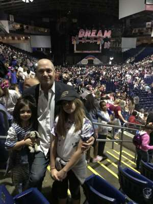 Rob Zatto attended Nickelodeon's Jojo Siwa D. R. E. A. M the Tour on Oct 1st 2019 via VetTix