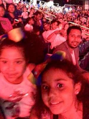 Dimas attended Nickelodeon's Jojo Siwa D. R. E. A. M the Tour on Oct 1st 2019 via VetTix