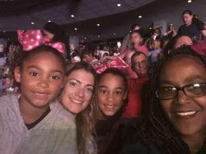 Robert  attended Nickelodeon's Jojo Siwa D. R. E. A. M the Tour on Oct 1st 2019 via VetTix